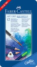 Akvarellpenna Faber-Castell Art Grip 12 färger
