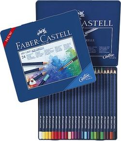 Akvarellpenna Faber-Castell Art Grip 24 färger